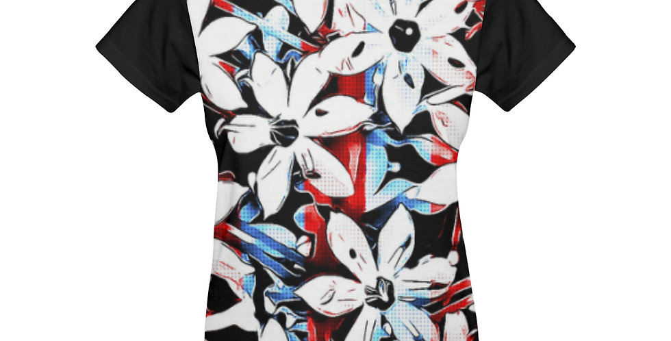 Patriotic Lily - T-shirt