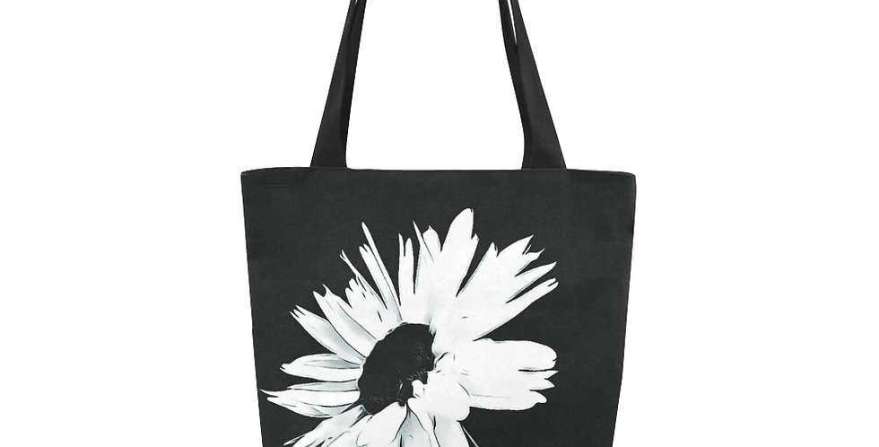 Bunch of Daisies Black and White - Tote Bag