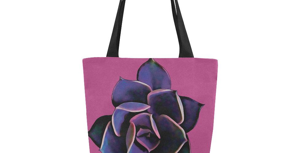 Pink Succulent - Tote Bag