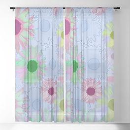 wildflower-floral-soft-blue-sheer-curtai