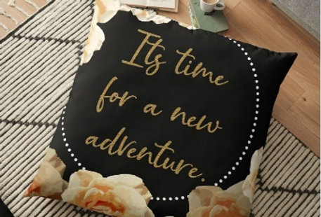 New Adventure Cushion Cover