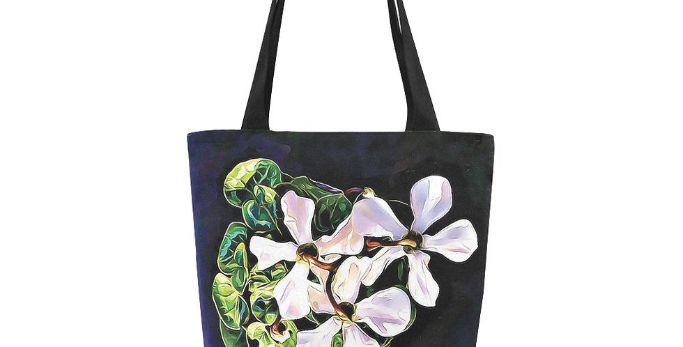 Cyclamen Swirl - Tote Bag