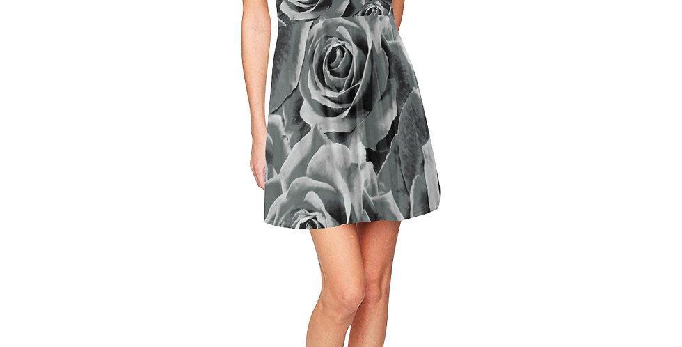 Gypsy Rose Silver Mist - Skater Dress