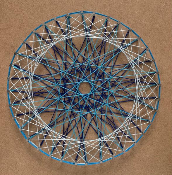 Mandala string art –  Cara Ellen – University for the Creative Arts.JPG