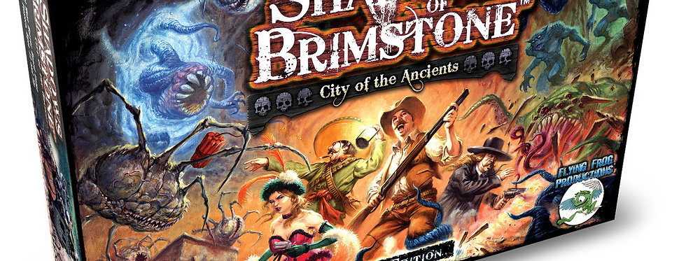 Shadows of Brimstone - City of the Ancients - Revised Edition