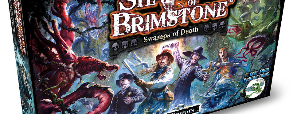 Shadows of Brimstone - Swamps of Death - Revised Edition