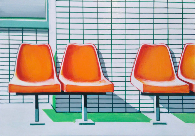 Waiting Room 30x21cm