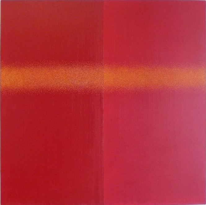 Equal Red 127x127cm