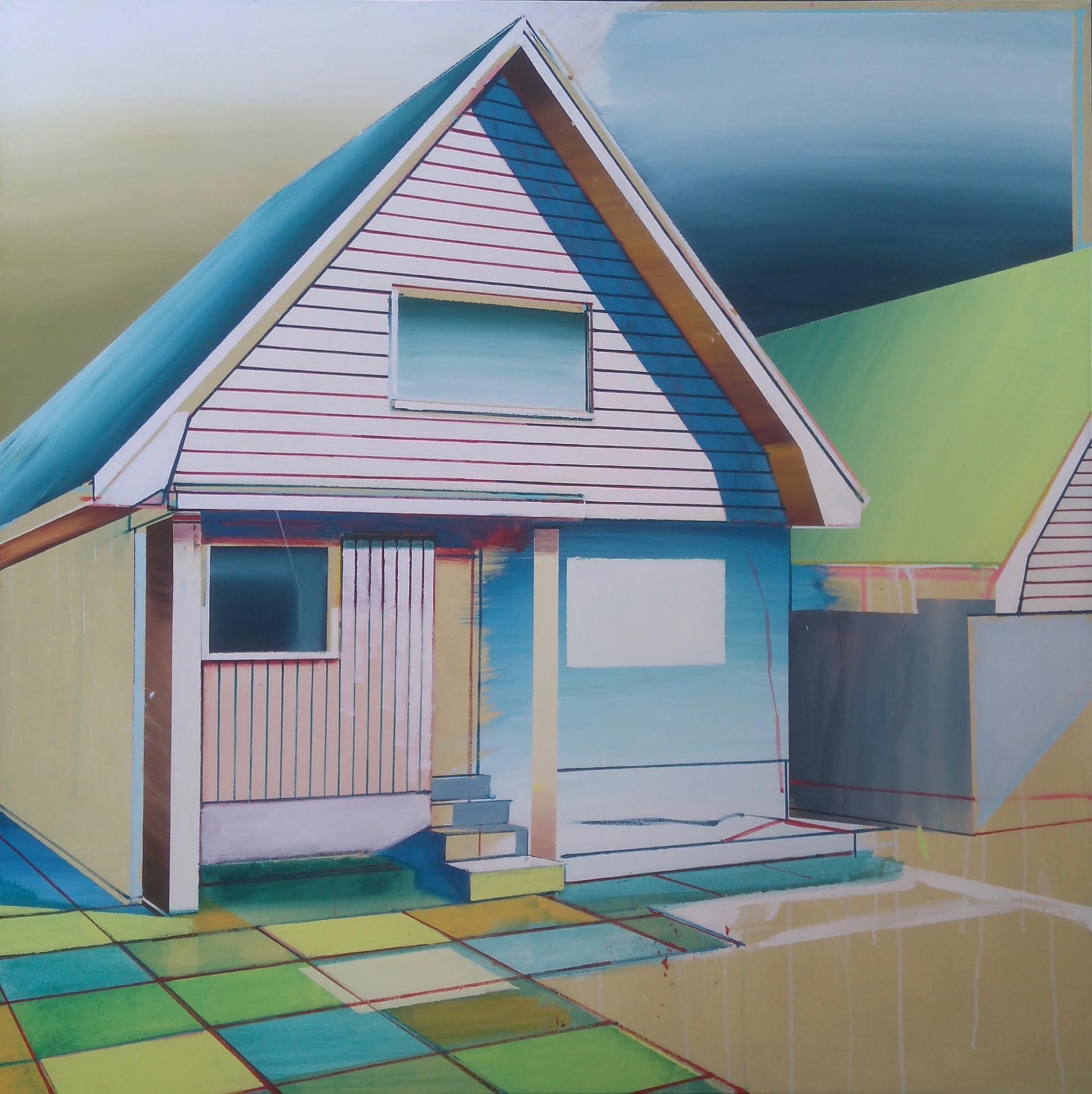 Triangle House 127x127cm