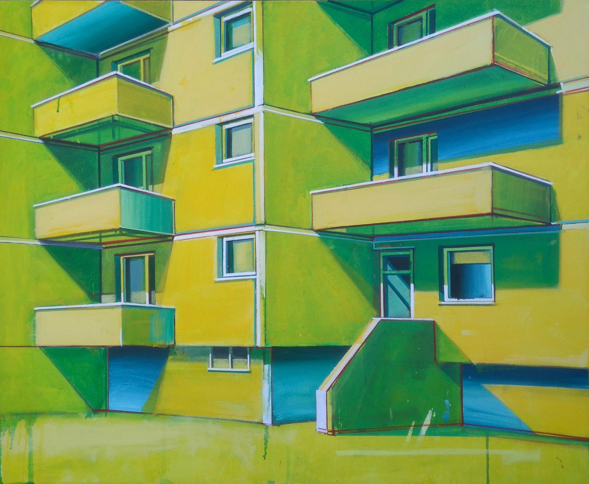 Green flats 2 100x80cm