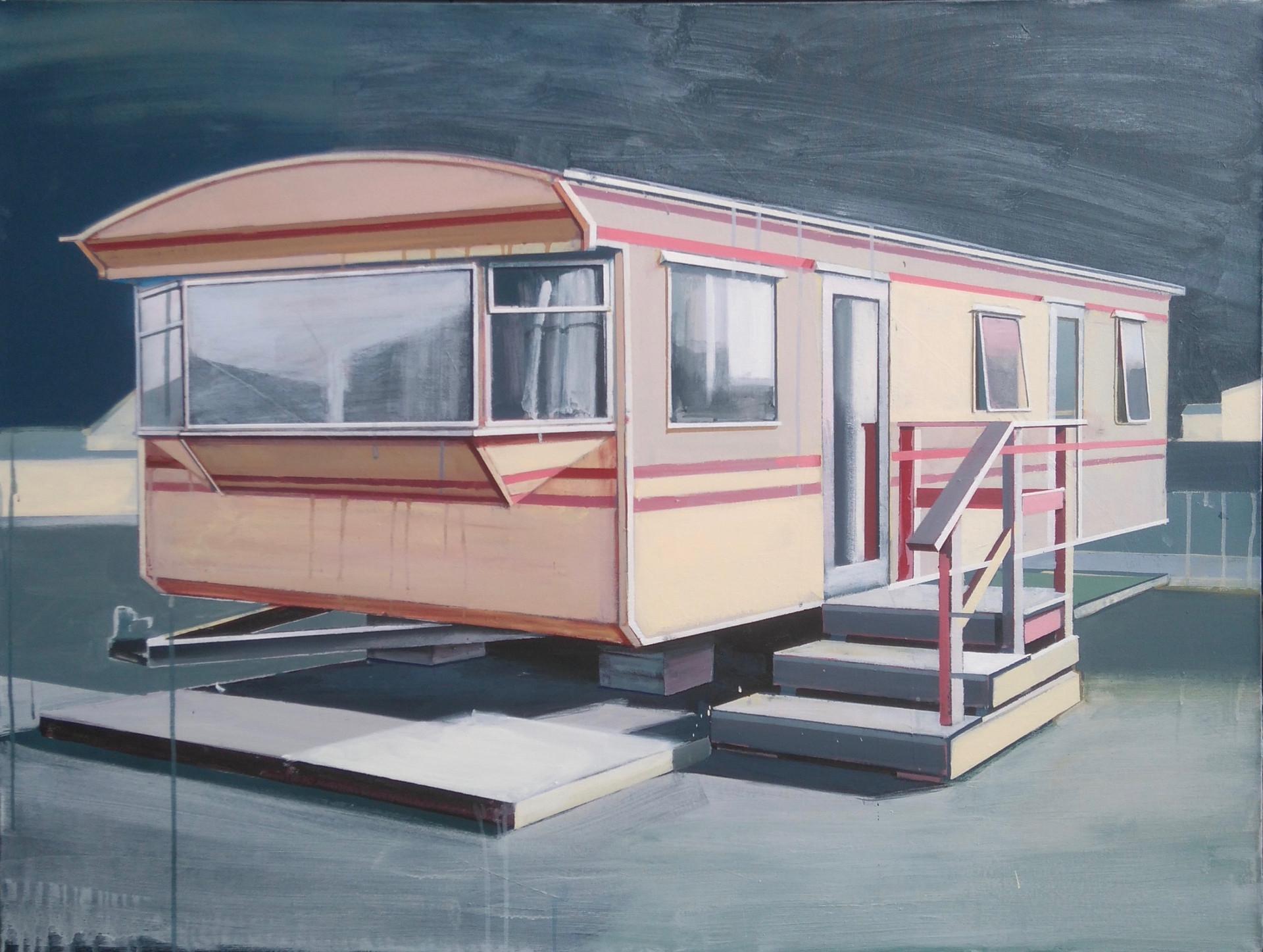 Yellow Caravan 125x100cm