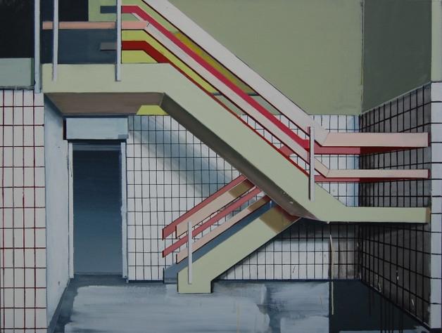 'Stairway' 125x100cm