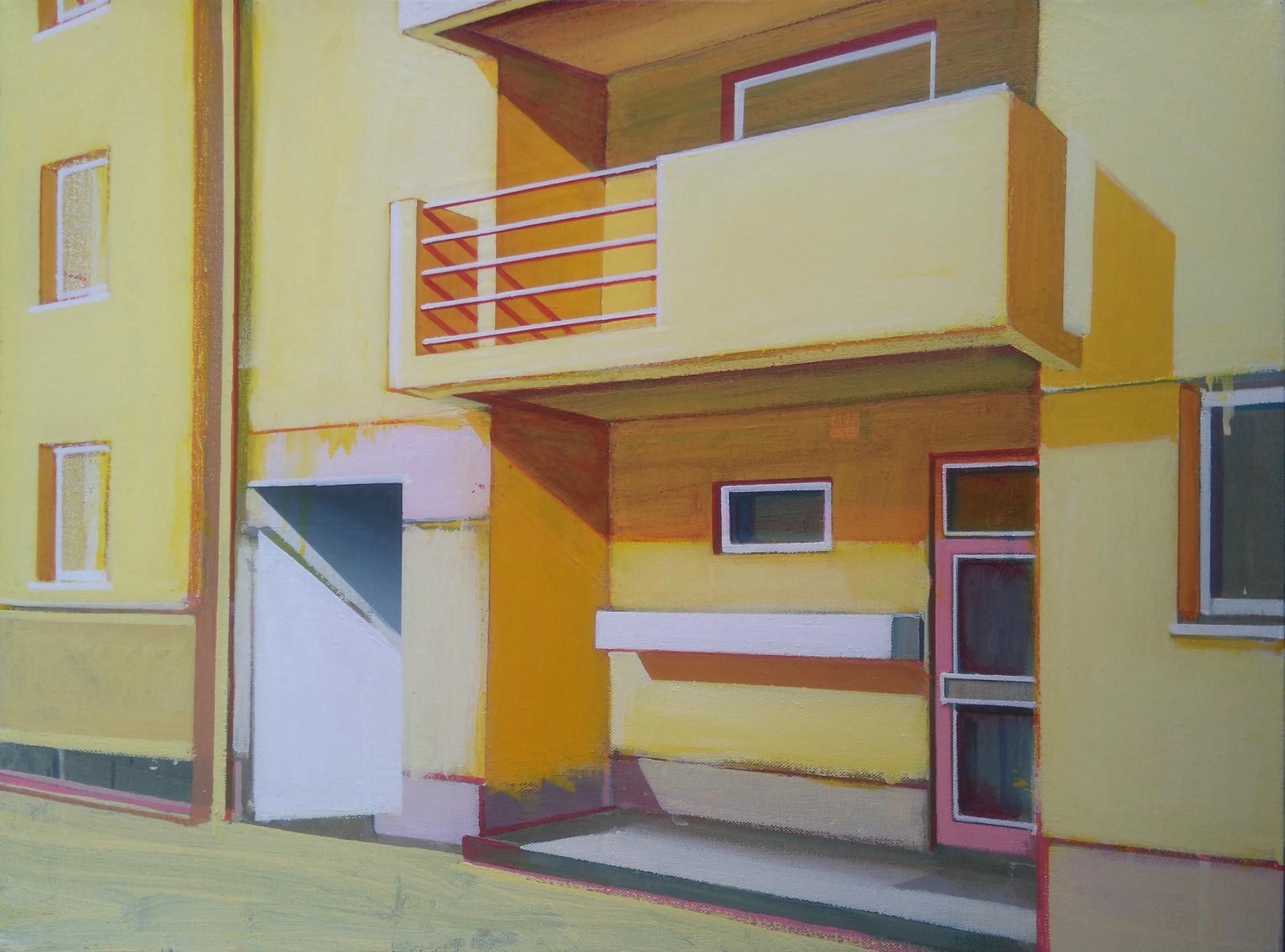 Yellow Flats 60x45cm
