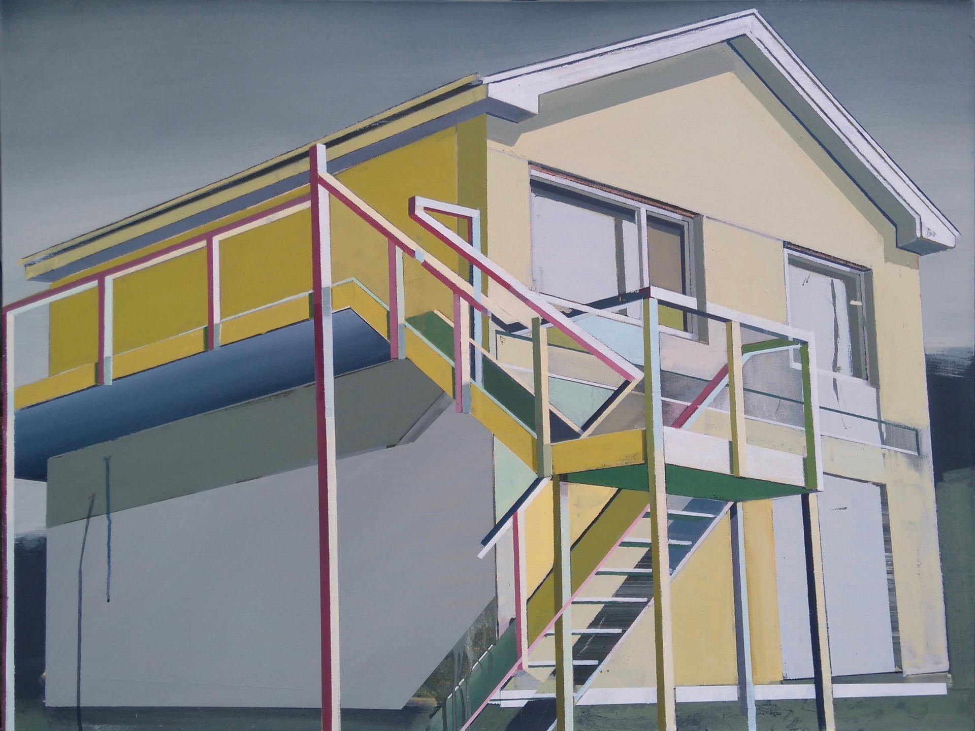 Yellow House 125x100cm
