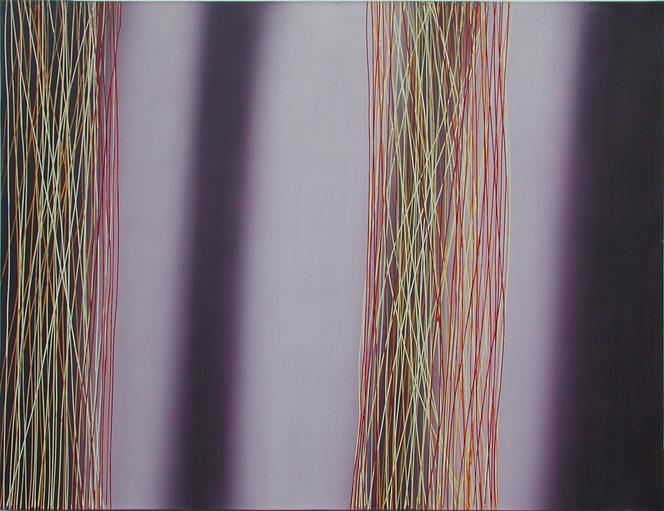 Yellow Lines 160x120cm