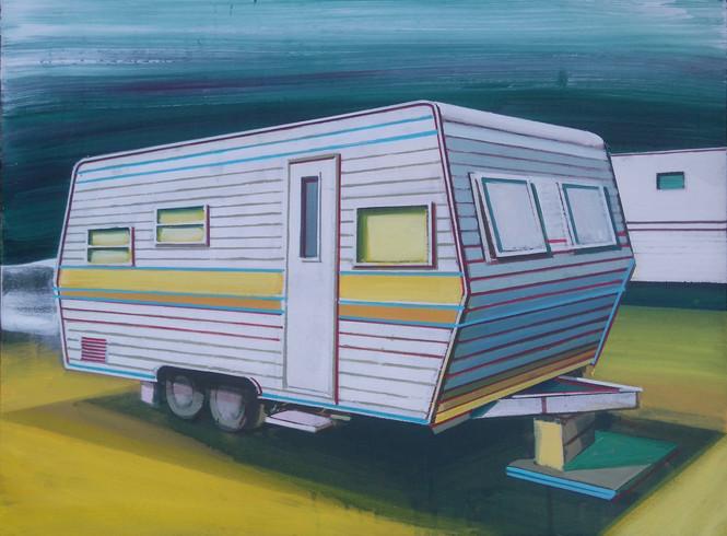 Caravan 60x45cm