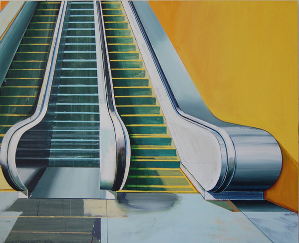 'Escalator 1' 165x135cm