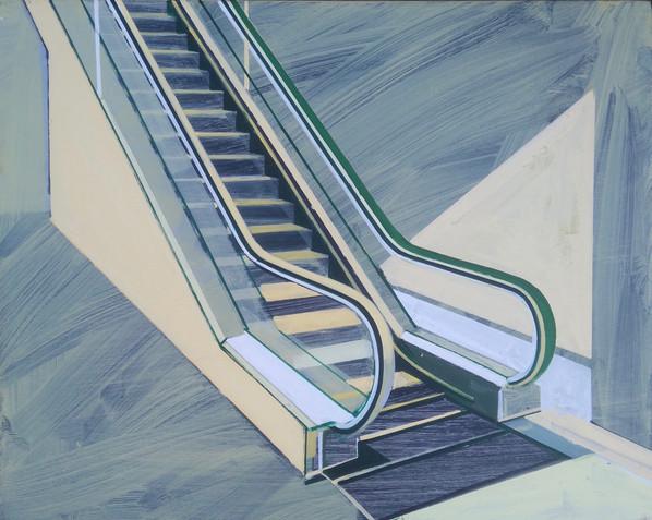 'Escalator' 38x30cm