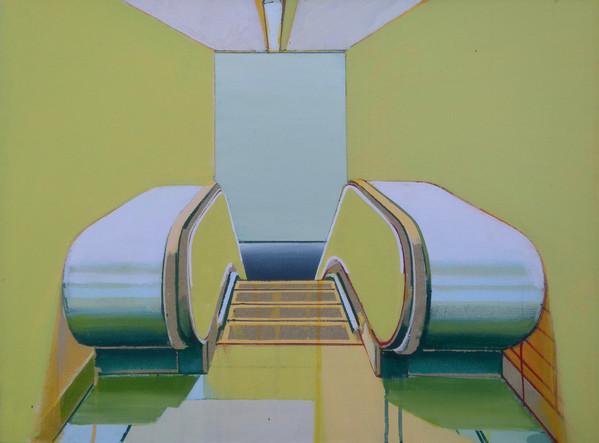 'Escalator' 3 60x45cm
