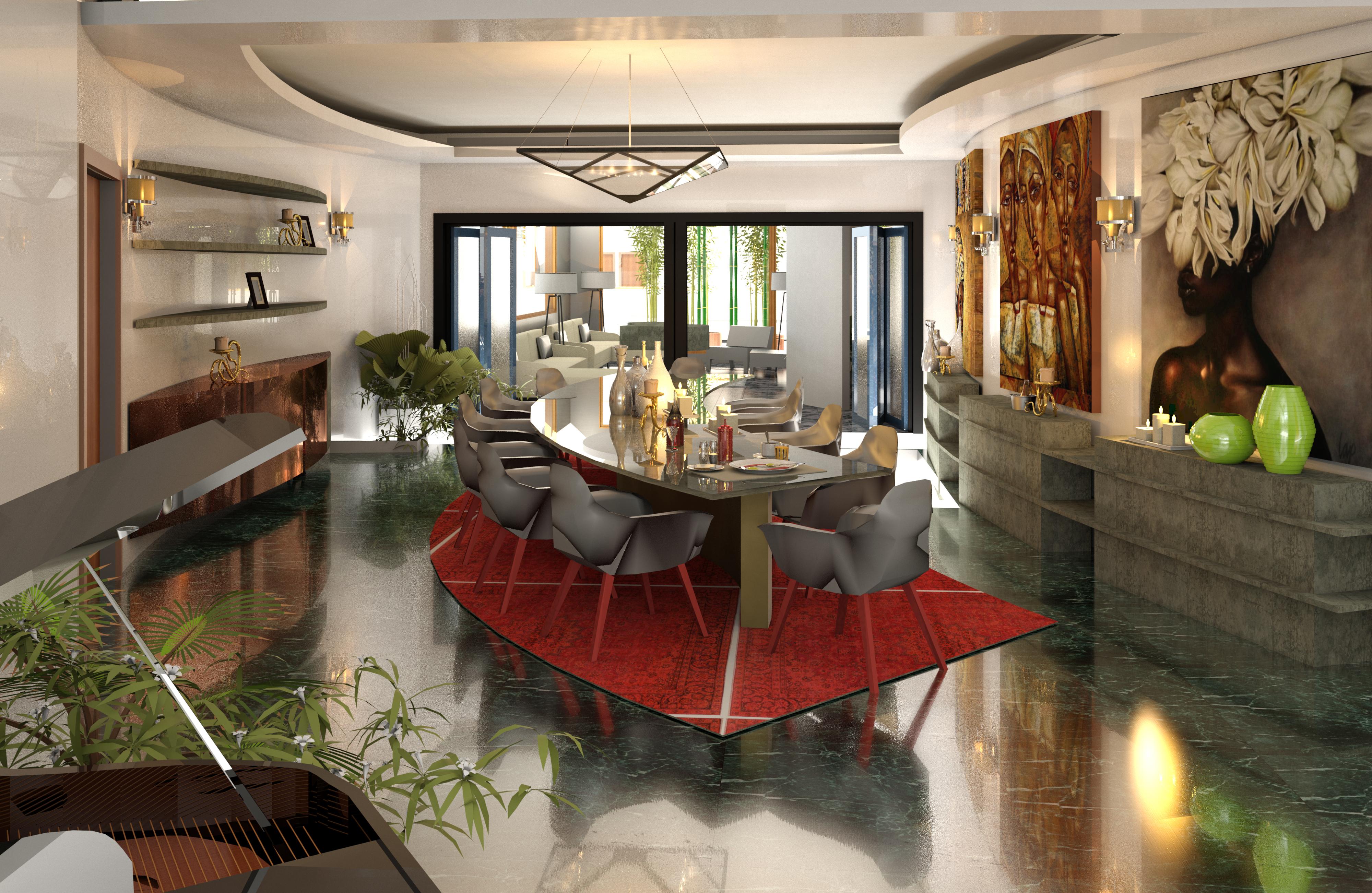 Le Rouge Living: Mohammed Residence, Abuja