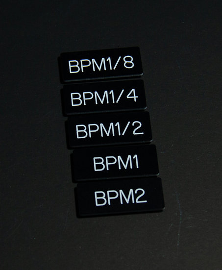 Filter Tags - BPM Set
