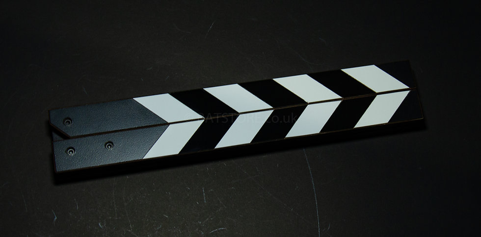 Hardwood Black and White Sticks (Medium)