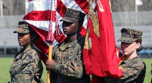 JROTC Flag Bearers
