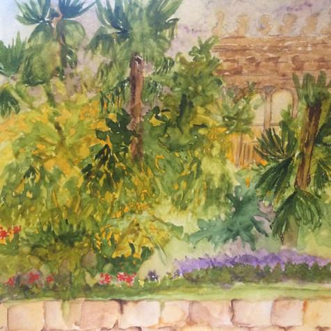 Poolside at the King David