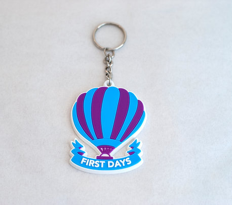 First Days Keyring