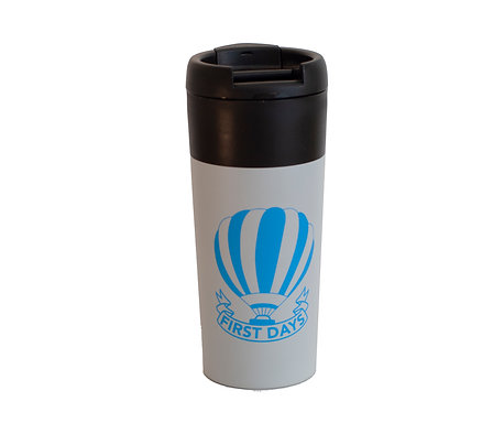 First Days Travel Mug - Light Grey