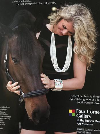 Four Corners Gallery Ad - Laura DeCesari