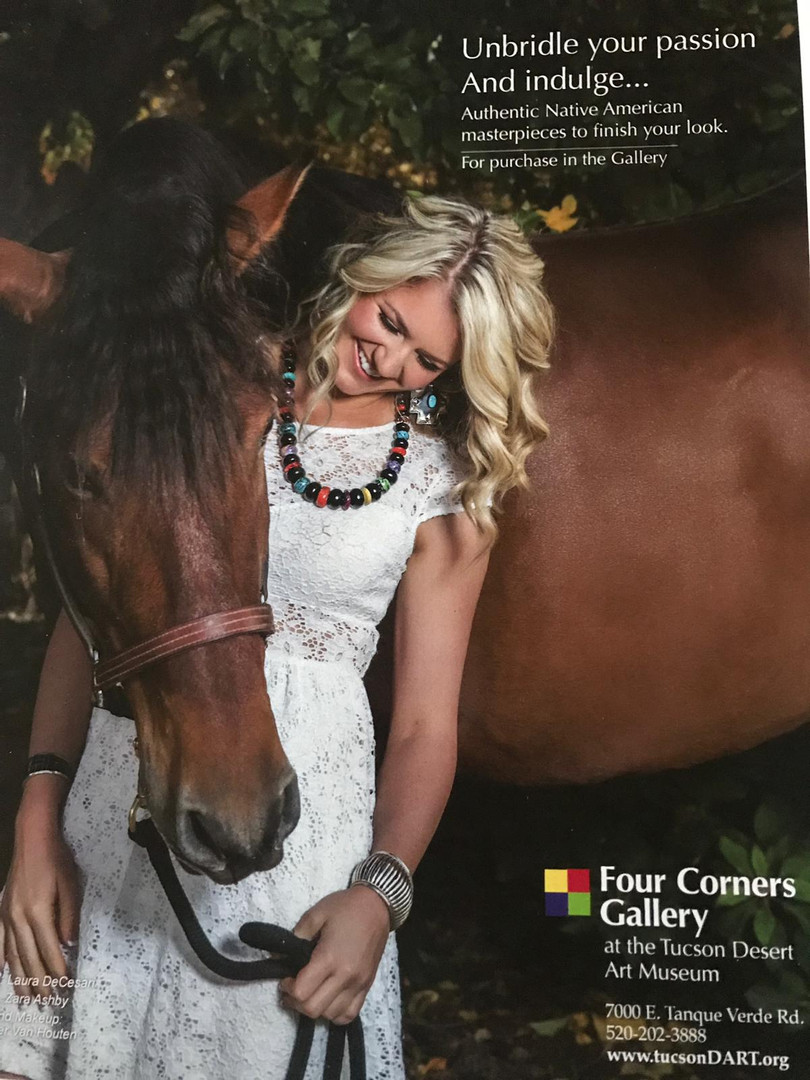 Four Corners Gallery Ad - Laura DeCesari