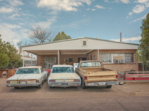 Landscape with Cars, Marfa