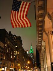 Flag on 5th