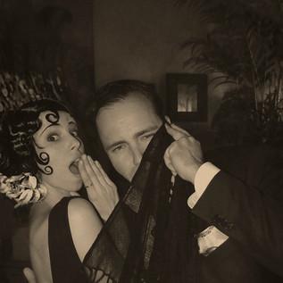 Pola Negri and Rudolph Valentino