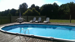 French gites with pool