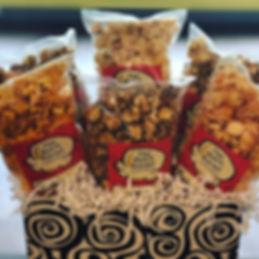 Gift baskets #gifts #gourmetpopcorn #cop