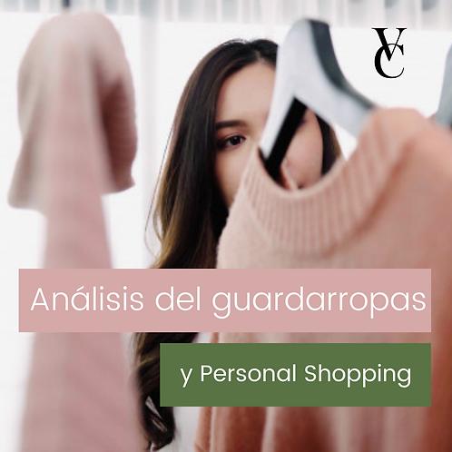 Análisis del guardarropas y Personal Shopping