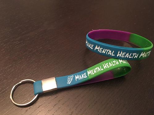 Make Mental Health Matter bracelet or key chain