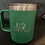 Thumbnail: 12 oz Love Life; You Matter Coffee Tumbler in green