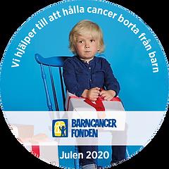 Symbrio stöder Barncancerfonden julen 2020