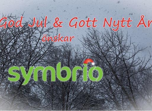 God Jul & Gott Nytt År önskar Symbrio!
