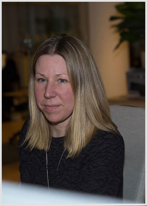Sara Larsson på Symbrios Helpdesk