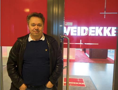 Håkan Ericsson, inköpschef på Veidekke