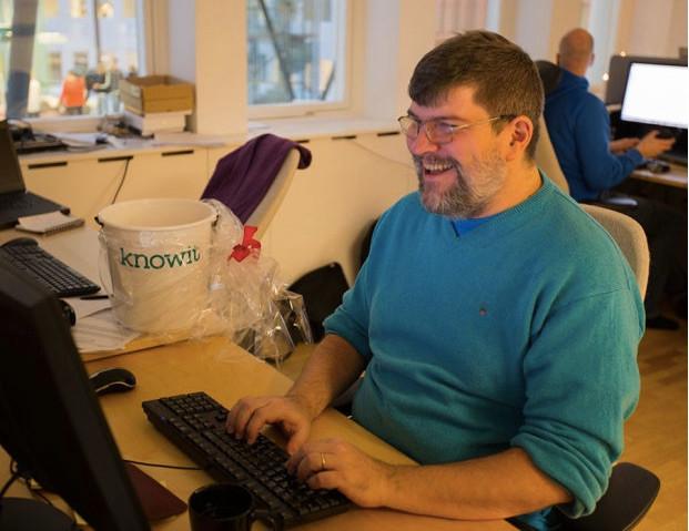 David Lund, konsult från Knowit