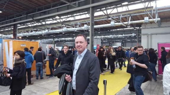 VD Johan Ouchterlony på E-commerce i Berlin
