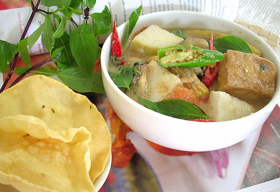 Udon Green Curry
