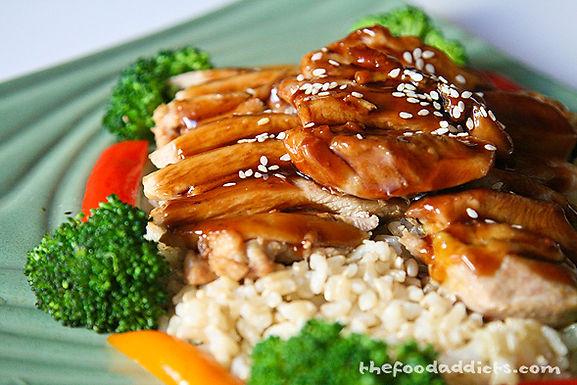 65. Teriyaki Chicken