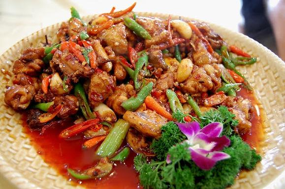 59. Spicy Chicken                        Lunch 9.95