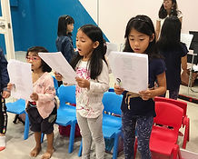 glee club show choir singapore group singing lessons kids children